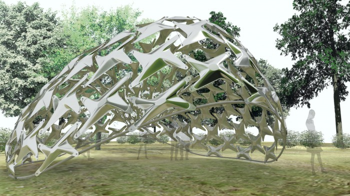 Ninety Nine Failures – The University of Tokyo Digital Fabrication Lab Pavilion 2013