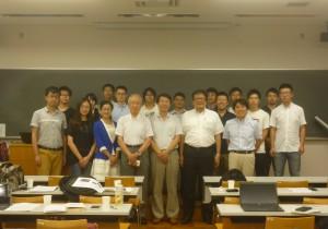 さくらサイエンスプランの交流事業で中国の同済大学とワークショップを行いました