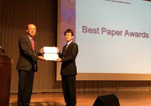 赤司研究室修士2年の宮田翔平が国際会議にて受賞しました