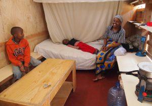 ナイロビでの小住宅の建設