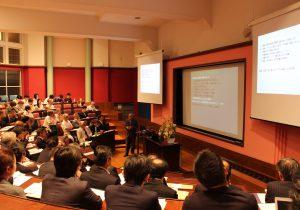 建築生産マネジメント寄付講座設立記念シンポジウムを開催しました。